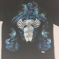Venom Marvel Spiderman T Shirt Mens Size Large
