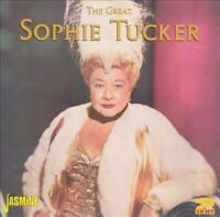 SOPHIE TUCKER - GREAT SOPHIE TUCKER NEW CD