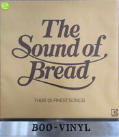 "Bread – The Sound Of Bread - Their 20 Finest Songs Vinyl 12"" LP Album 1977 Ex"
