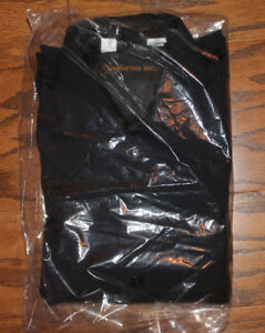 Perfection Uniform Navy Blue Police EMT Fire Long Sleeve Shirt NWT Size 16-36