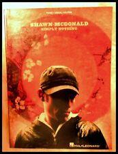 "Shawn McDonald, ""Simply Nothing"", original Christian music book"