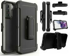 defender Shockproof case Samsung Galaxy s21/S21Plus/s21 ultra belt clip optional