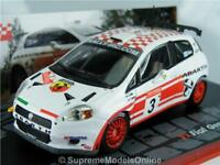 FIAT GRANDE PUNTO S2000 RALLY CAR MODEL ALEN 1/43RD WHITE/RED EXAMPLE T3412Z(=)