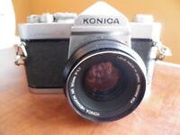 Konica Autoreflex A3 Film Camera with Lense Hexanon AR 50mm F1.7