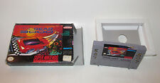 Top Gear 3000 Super Nintendo SNES Original Racing Game & Box