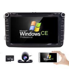 "8"" Touchscreen Mirror VW Golf Mk5 Mk6 Car Radio Stereo DVD CD SD GPS OEM-Style"