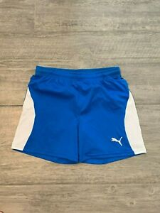 PUMA Dry Cell Soccer Training Shorts, Women's Size SP Blue Size Small P