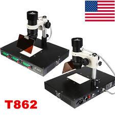 T862 INFRARED REWORK STATION IRDA WELDER SOLDERING SMT SMD BGA XBOX 600W USA