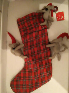 SIA Christmas socking, gebraucht