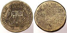 PESO MONETALE DOPPIA DI GENOVA DEL 48 LIRE #6966A