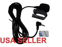 2.5mm Microphone For Car Stereo GPS DVD  Bluetooth Enabled External  Mic  U Clip