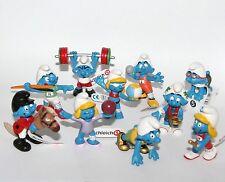 Smurf Set - SPORT Smurfs Set 2012 * NEW * 10 x Smurf Figures