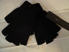 MARC BY MARC JACOBS MEN'S BLACK KNITTED FINGERLES GLOVES ONE SIZE
