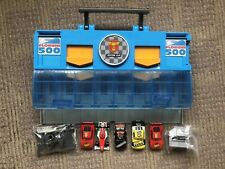 Disney Pixar Cars Launcher Carry Case & Diecast Cars