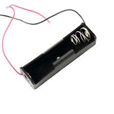 New 3.6~4.2V Clip Holder Box Case Black for 18650 17500 18500 Battery PKCELL