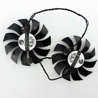 Dual fan Black Cooling Fan Repair Part For EVGA GTX 1080Ti SC2 GAMING
