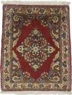 Rare Classic Birds Design Small 2'0X2'7 Vintage Area Rug Oriental Wool Carpet