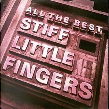 Stiff Little Fingers All The Best 2 CD 30 Tracks 1991
