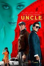 MAN FROM U.N.C.L.E. 2015 Original 2015 Promo Mini Movie Poster H Cavill A Hammer