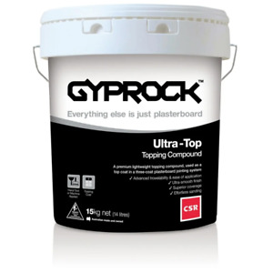 Gyprock CSR 15kg Ultra-Top Topping Compound