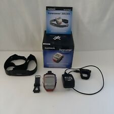 Garmin Forerunner 305 GPS Fitness Running Watch With Heart Rate Monitoring Strap