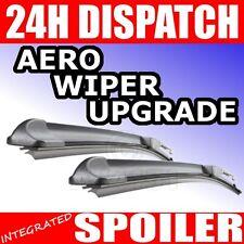 "Peugeot 206 aero flat wiper blades differ length 26/19"""