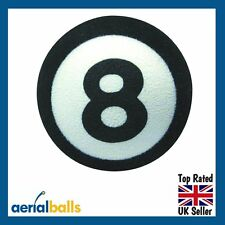 REDUCED Lucky 8 Eight Ball Pool Lucky Car Aerial Ball Topper Dashboard Wobbler