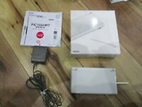 Nintendo Ds Lite Console Crystal White Complete Japanese c935