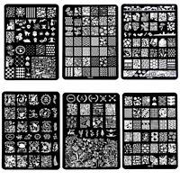 DIY Design Multi Pattern Nail Art Image Stamp Stamping Plates Manicure Template