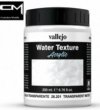 Vallejo Diorama Effects 26.201 Transparent Water 200ml Acrylic Water Texture