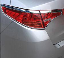ABS Chrome Rear Tail Light Lamp Cover Trim 4PCS For Kia Optima K5 2011-13