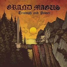 """GRAND MAGUS """"TRIUMPH AND POWER"""" VINYL BLACK LP + POSTER NEW"""