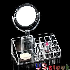 Cosmetics  Display Box Storage Drawers Makeup Jewelry Organizer Space Saving US