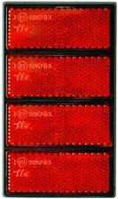 Reflektor Katzenauge Rückstrahler 4er Streifen mit Prüfzeichen HR Art. 11040