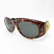 Gianni Versace 90's Vintage Medusa sunglasses Tortoise Brown #2