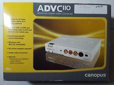 Canopus ADVC-110AD Analog to Digital Video Converter Open Box 2005 NTSC