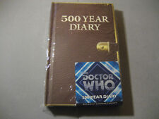 Doctor Who 500 Year Diary Journal Hard Cover