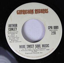 Northern Soul  45 Arthur Conley - More Sweet Soul Music / Walking On Eggs On Cap