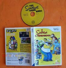 I SIMPSON IL VIDEOGIOCO - Nintendo Wii - Italiano 1ª Ed - BOXATO - FO