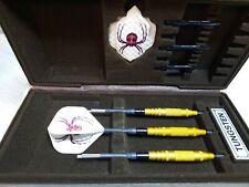 Gold Widow darts fixed point 23G knurl finish