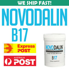 Novodalin 500mg Amygdalin Content 500mg Vitamin B17 Tablets Australia Stock
