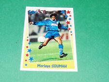 PANINI FOOTBALL SUPERFOOT 1998-1999 M. SOUMAH SEC BASTIA SECB FURIANI CORSICA