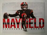 2018 Baker Mayfield Rookie of the Year Card
