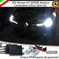 KIT XENON SLIM XENO H7 AC 6000K 35W PER RENAULT CLIO 4 IV ULTRALUMINOSI