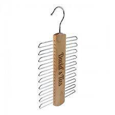 Nuevo cinturón de lazo de madera Personalizado Hanger Colgador Organizador Almacenamiento Padres Día Regalo
