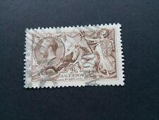 Great Britain - Scott # 179 - used stamp K. GeorgeV 2sh6p ( 1919)