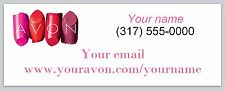 30 Personalized Address Labels Avon Representative Buy 3 get 1 free (ac 950)