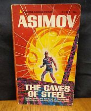 THE CAVES OF STEEL BY ISAAC ASIMOV - SIGNED