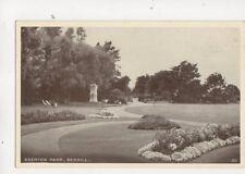Egerton Park Bexhill Vintage Postcard 350b