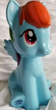 "Rainbow Dash My Little Pony Coin Bank  Figure Ceramic 9.5"""